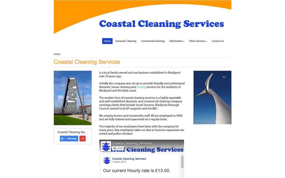 Coastal Cleaning