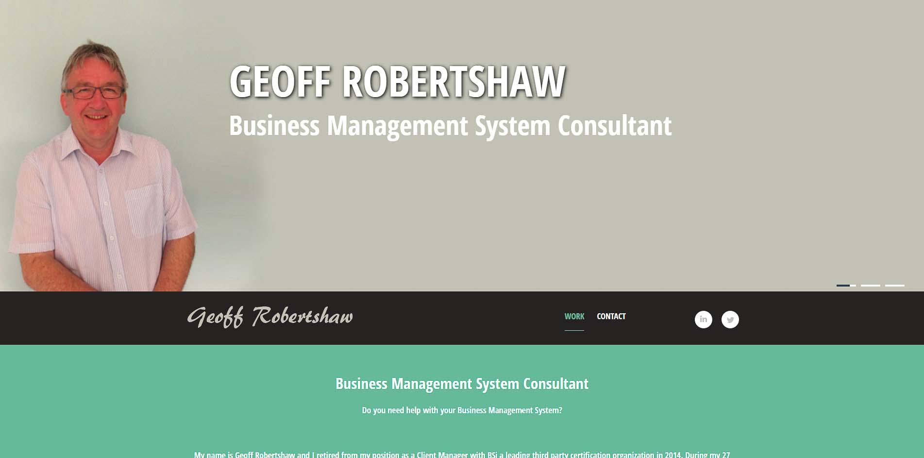 Geoff Robertshaw